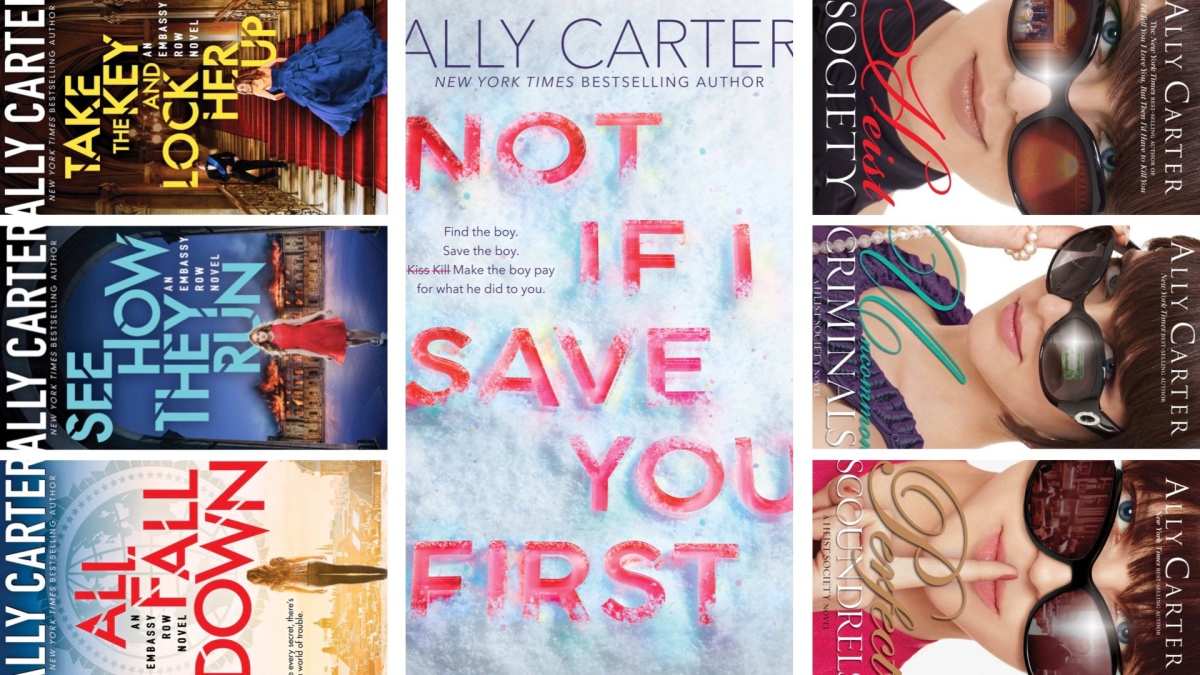ally carter book review | meg talks media